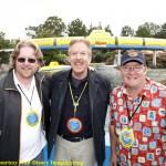 Andrew Stanton, Tony Baxter & John Lasseter
