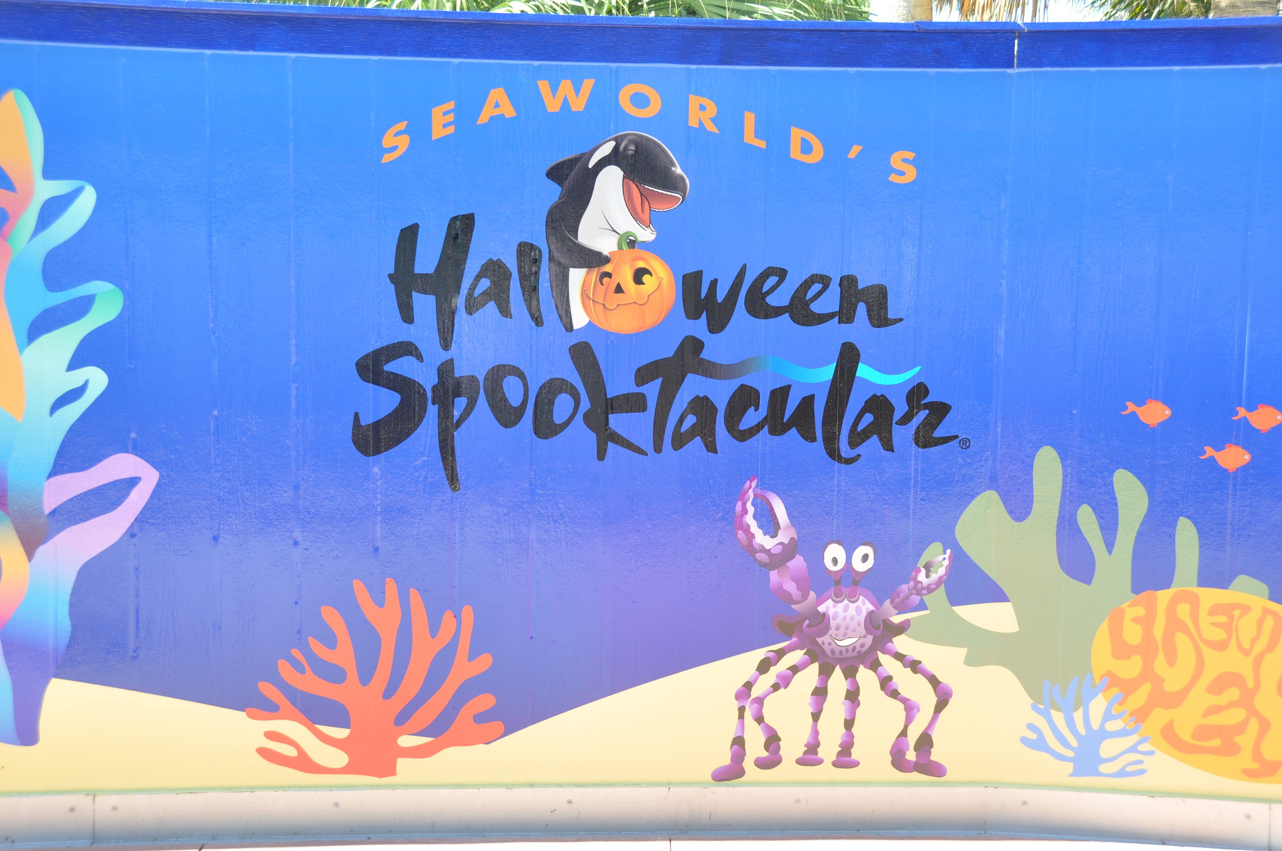 Halloween Spooktacular at SeaWorld Orlando