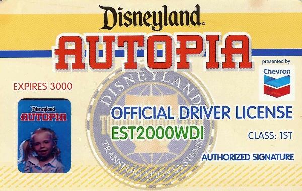 DL Autopia Driver's License