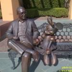 Roy Disney statue