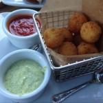 Cheddar Rissotto Bites - Alfresco Tasting Terrace