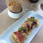 Shrimp & Chorizo - Alfresco Tasting Terrace